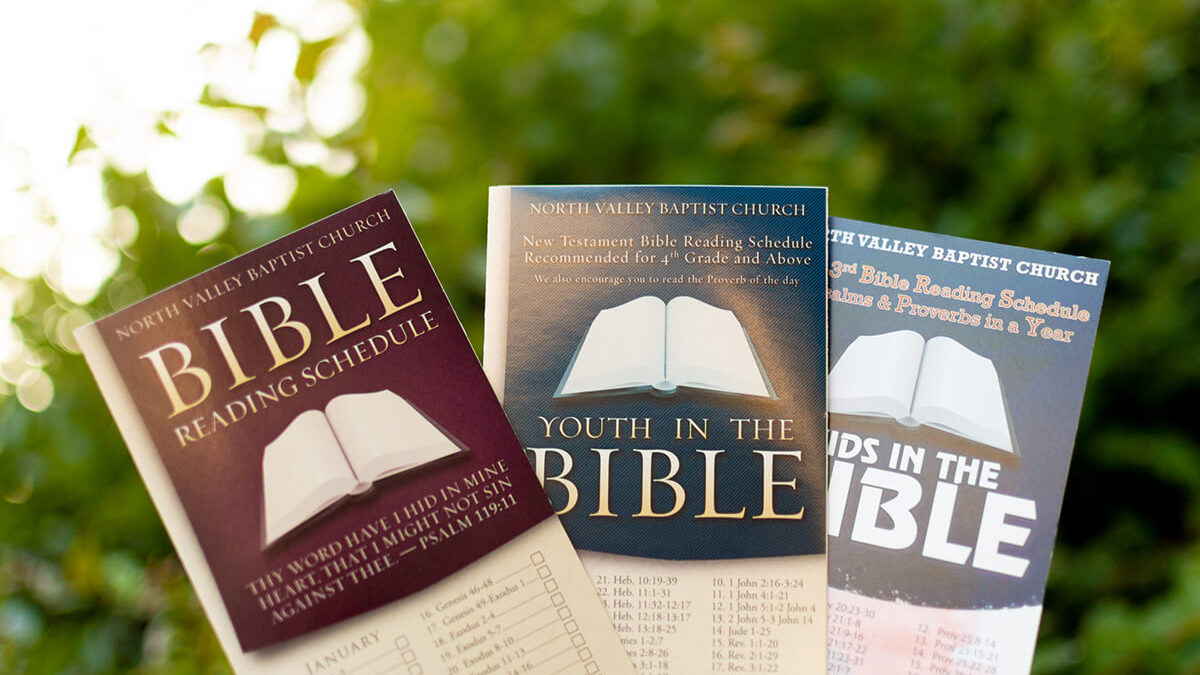 Downloadable Bible Reading Schedules for the New Year