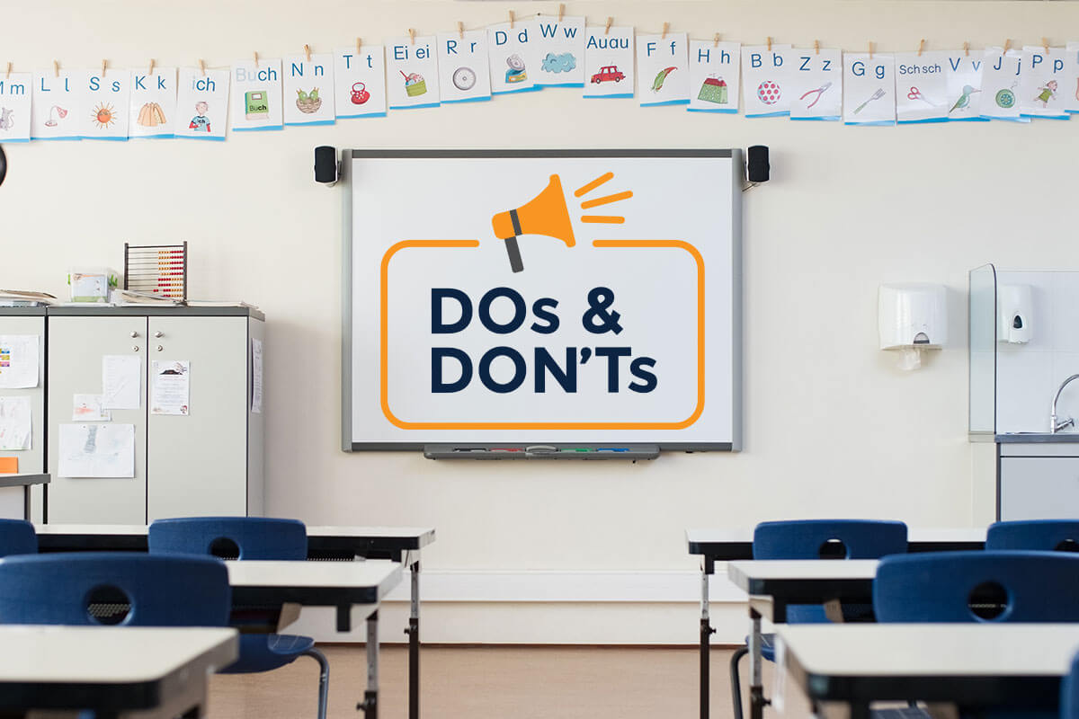 Dos and Don'ts for the First-Year Teacher