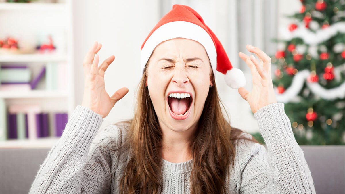 'Tis the Season to be, STRESSED OUT!