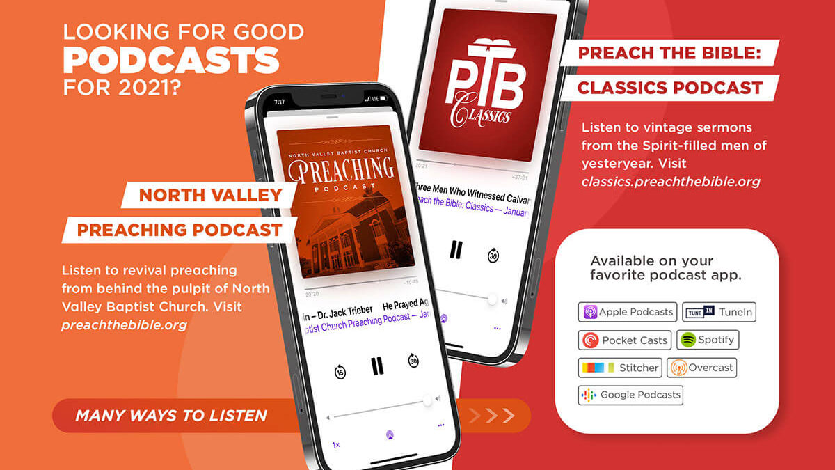 Great Podcasts for 2021!