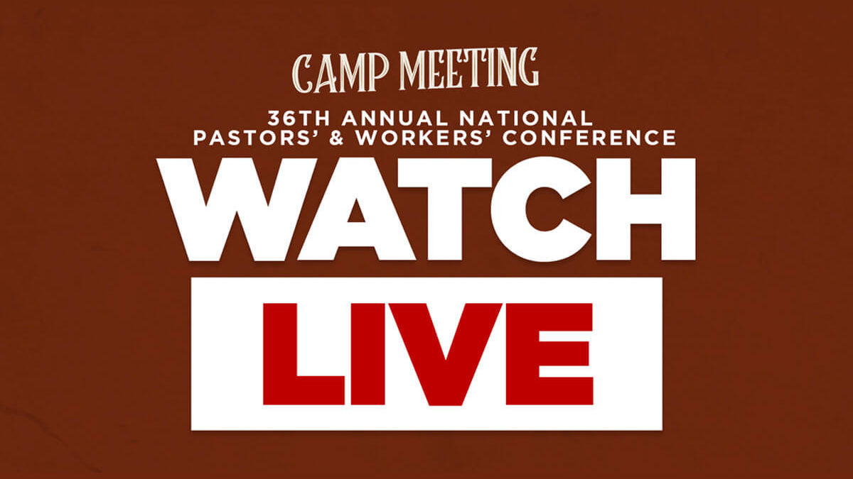 """Watch """"Camp Meeting"""" Live"""
